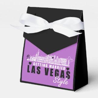 Ideas del regalo de boda de Vegas - cajas del