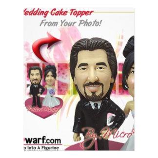 Ideas personalizadas de los regalos de boda tarjeta publicitaria