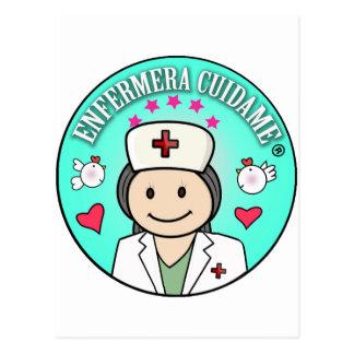 Ideas Regalo de Enfermera Cuidame Postal