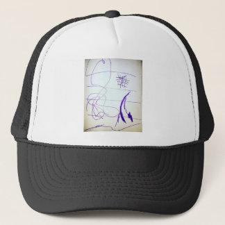 Ideas y libertad de los gráficos de los garabatos gorra de camionero