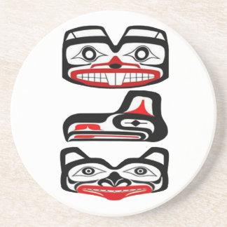 Identidad tribal posavasos de arenisca