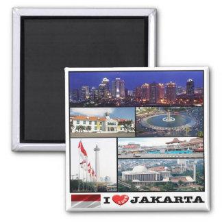 Identificación - Indonesia - Jakarta - amor de I - Imanes