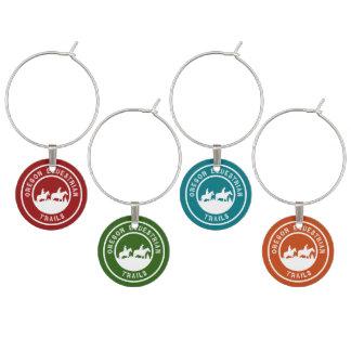 Identificador De Copa Encantos del vino con el logotipo