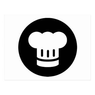 Ideología del cocinero tarjetas postales