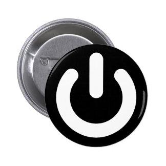 Ideología del poder del friki chapa redonda de 5 cm