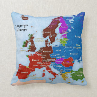 Idiomas de la almohada de Europa