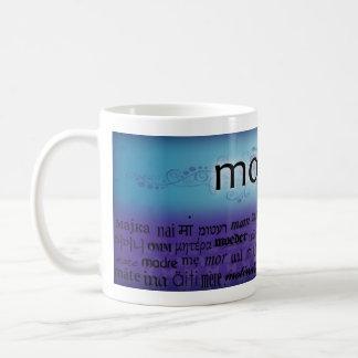 """Idiomas de la """"madre"""" - taza de café"""