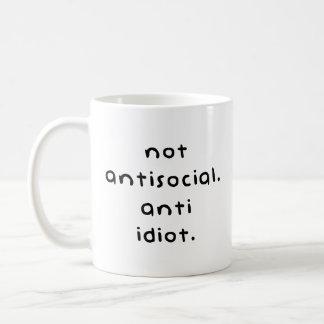 Idiota anti taza de café