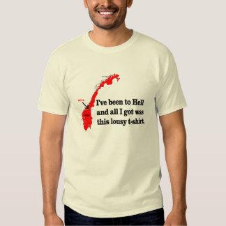 Ido al infierno camiseta