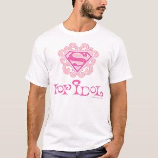 Ídolo de estallido de Supergirl Camiseta