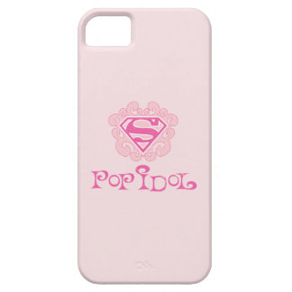 Ídolo de estallido de Supergirl iPhone 5 Funda