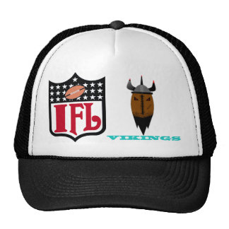 IFL vikingos Gorras De Camionero