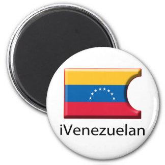 iFlag Venezuela Imán Redondo 5 Cm