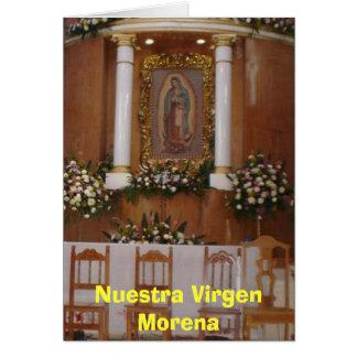 Iglesia (2006), Nuestra Virgen Morena Tarjeta De Felicitación
