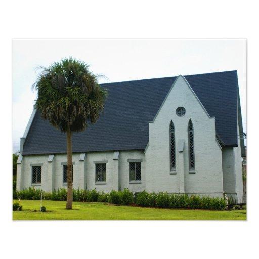Iglesia abajo al sur anuncio