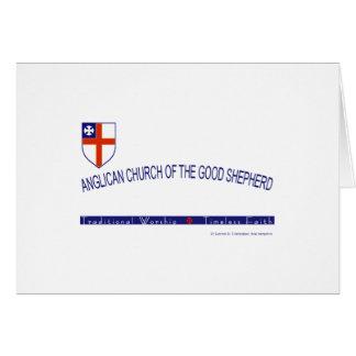Iglesia Anglicana del buen pastor Tarjetón