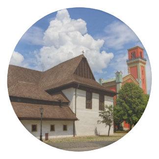 Iglesia articular de madera en Kezmarok, Goma De Borrar