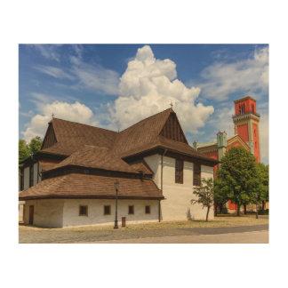 Iglesia articular de madera en Kezmarok, Impresión En Madera