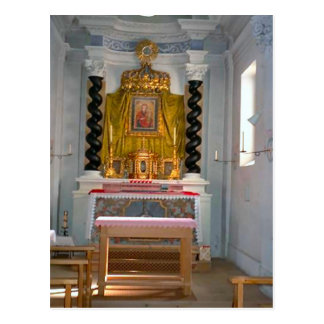 Iglesia católica, capilla del sacramento reservado postal