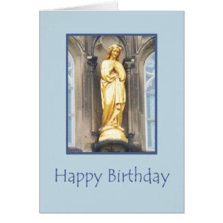 Iglesia católica de St Mary - tarjeta del feliz
