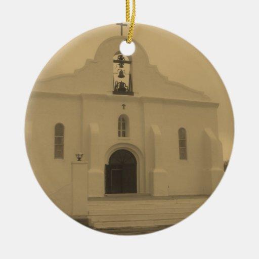 Iglesia católica vieja de la misión de El Paso - M Ornamentos De Reyes