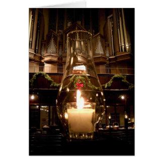 Iglesia cristiana de Park Avenue en el navidad Tarjeta De Felicitación
