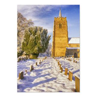 Iglesia de Hethersett, Norfolk Invitación 12,7 X 17,8 Cm