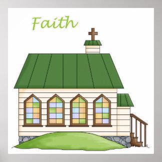 Iglesia de la fe posters