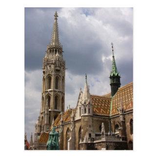 Iglesia de Matías, Budapest Postal