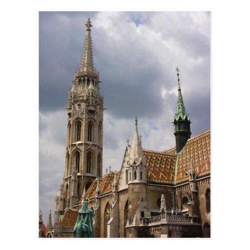 Iglesia de Matías, Budapest Tarjetas Postales