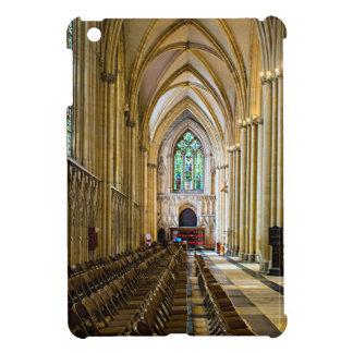 Iglesia de monasterio de York desde adentro.
