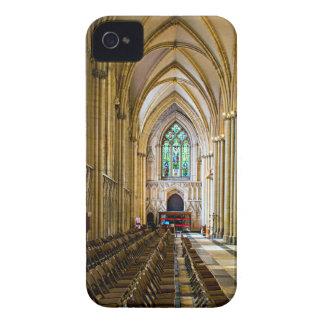 Iglesia de monasterio de York desde adentro. Carcasa Para iPhone 4 De Case-Mate