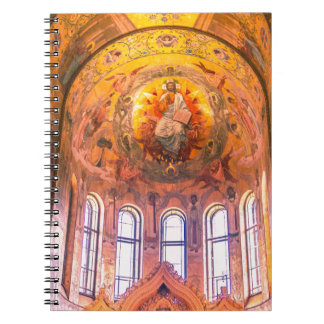 Iglesia de nuestro salvador en la sangre derramada cuaderno