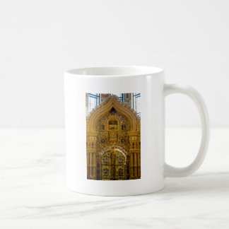 Iglesia de nuestro salvador en la sangre derramada taza de café