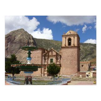 iglesia de Perú Postal