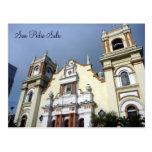 iglesia de San Pedro Tarjeta Postal