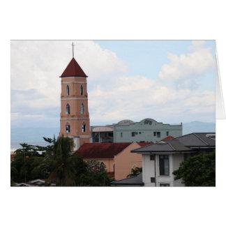 Iglesia de Santo Niño, ciudad de Tacloban Tarjeta De Felicitación