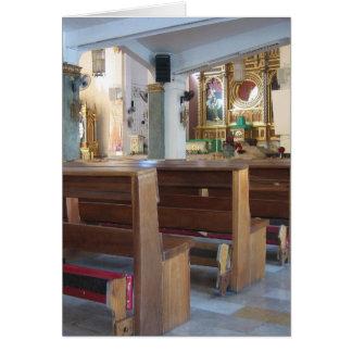 Iglesia de Santo Niño Tarjeta De Felicitación