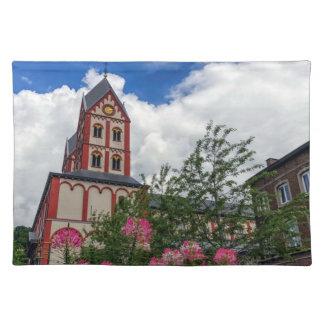 Iglesia de St Bartholomew, Lieja, Bélgica Salvamanteles