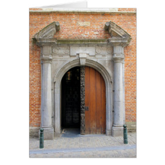 Iglesia de St Mary Magdalena - Bruselas, Bélgica Tarjeta