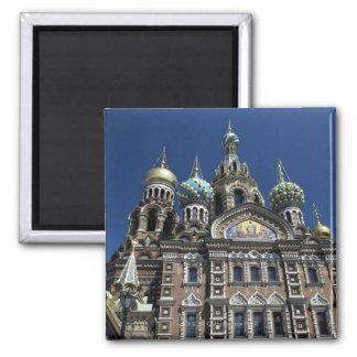 Iglesia de St Petersburg, Rusia Imanes Para Frigoríficos