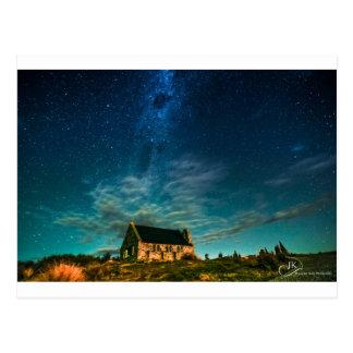 Iglesia del buen pastor, Tekapo Postal