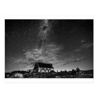 Iglesia del buen pastor Tekapo Postal