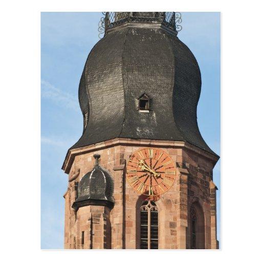 Iglesia del espíritu santo en la ciudad vieja Heid Tarjetas Postales