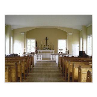 Iglesia del parque de Allaire Invitación