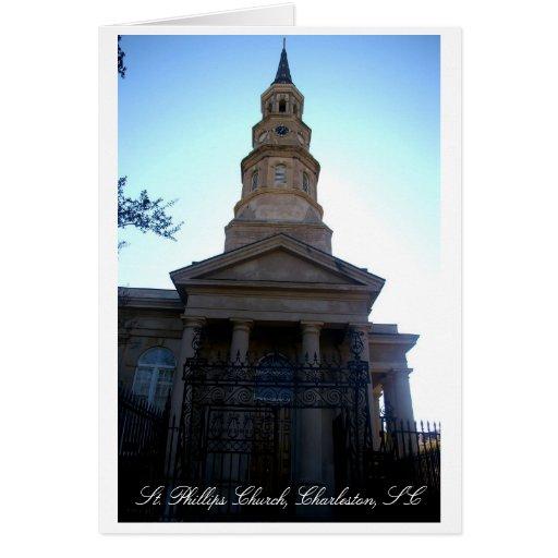 Iglesia del St. Phillips, Charleston, SC Tarjetas