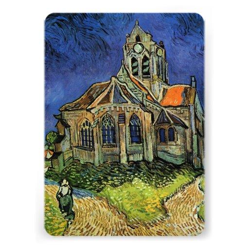 Iglesia en Auvers por Vincent van Gogh, casandose Anuncio