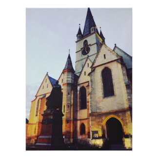 Iglesia evangélica en la noche comunicado