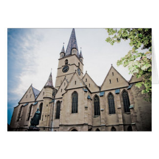 Iglesia evangélica Sibiu Tarjetón