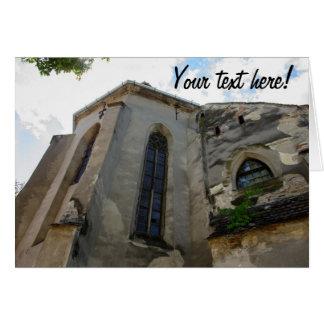 Iglesia evangélica Sibiu Felicitacion